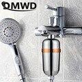 DMWD фильтр для душа для ванной комнаты с активированным углем  насадка для ванны  очиститель воды  очиститель для смесителя  картридж для уда...