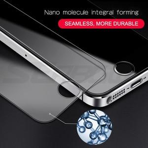 Image 3 - 9H temperli koruyucu cam iPhone 5 5S SE 4 4S güvenlik ekran koruyucu için iphone 6 6S 7 8 artı koruma cam filmi kılıfı