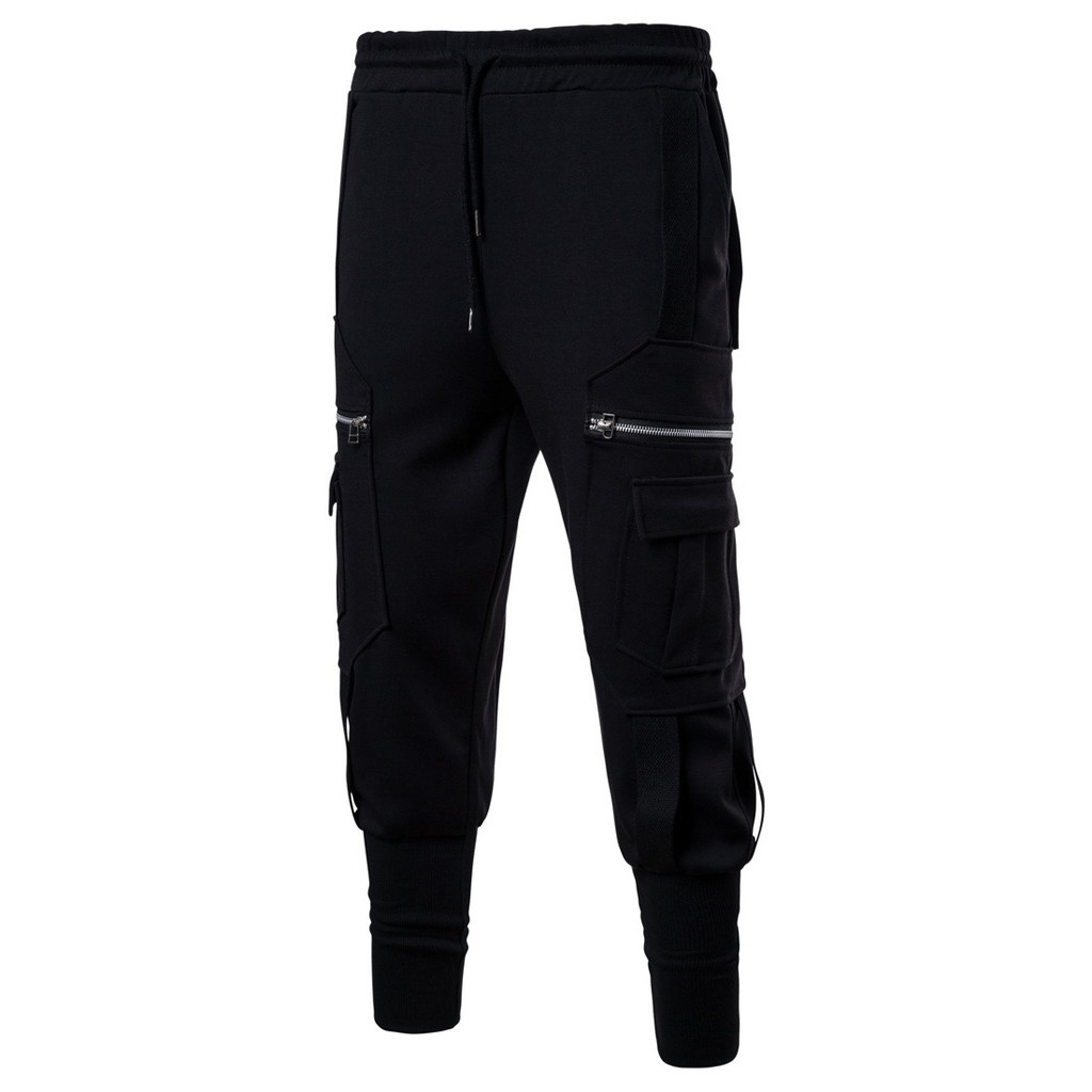 Pants Trousers Elastic-Waist Harlan Leisure Sport Men's Casual New-Fashion