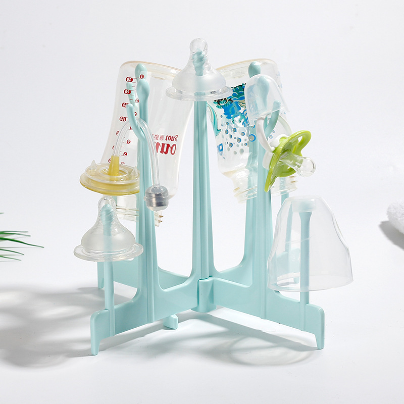 Foldable Baby Bottle Drying Rack Baby Bottle Dryer Stand For Bottles Botellero Infant Nipple Storage Etendoir A Linge Dryer Rack