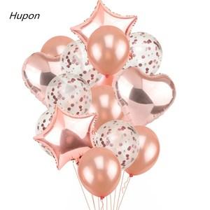 Воздушные шары из фольги шары из латекса, воздушные шары из латекса, конфетти, украшения для детских игрушек, товары для дня рождения