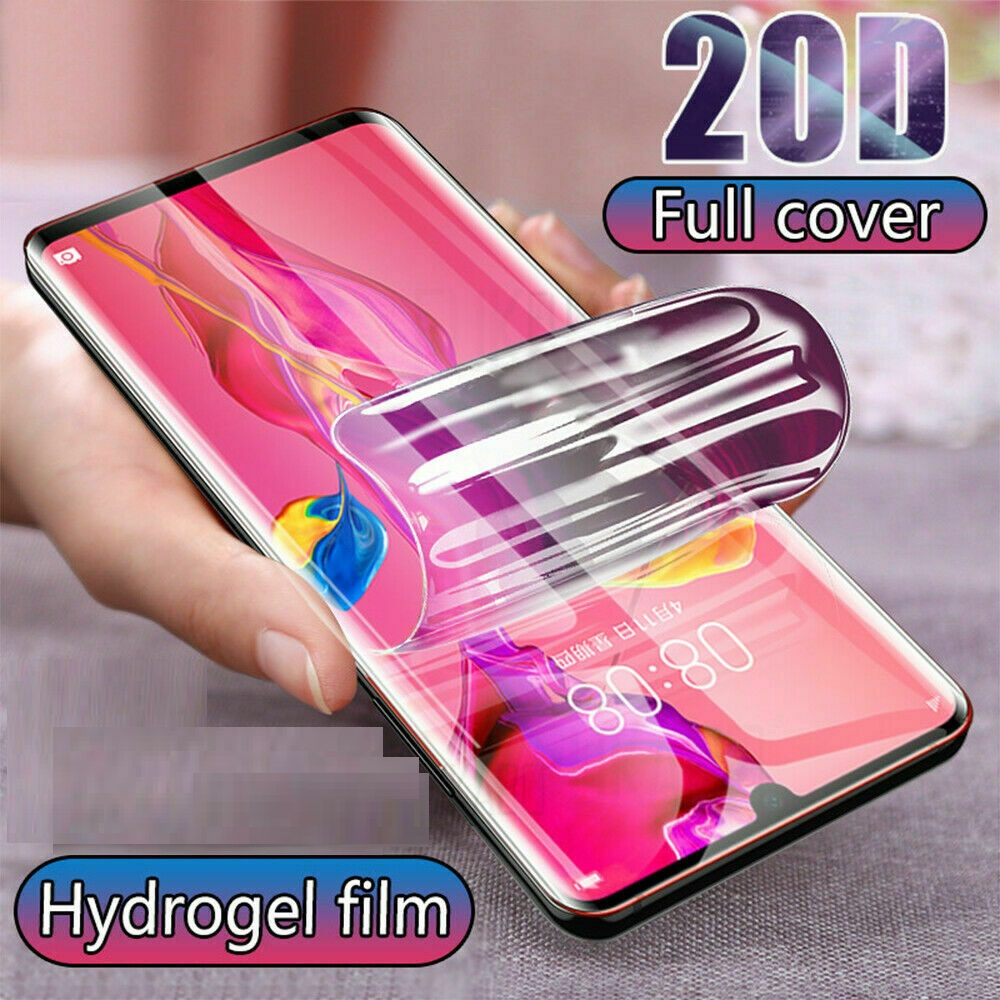 High-quality Full Cover For HTC Desire 19s Screen Protector Hydrogel Film Protective Film For HTC Wildfire E1 Plus Not Glass