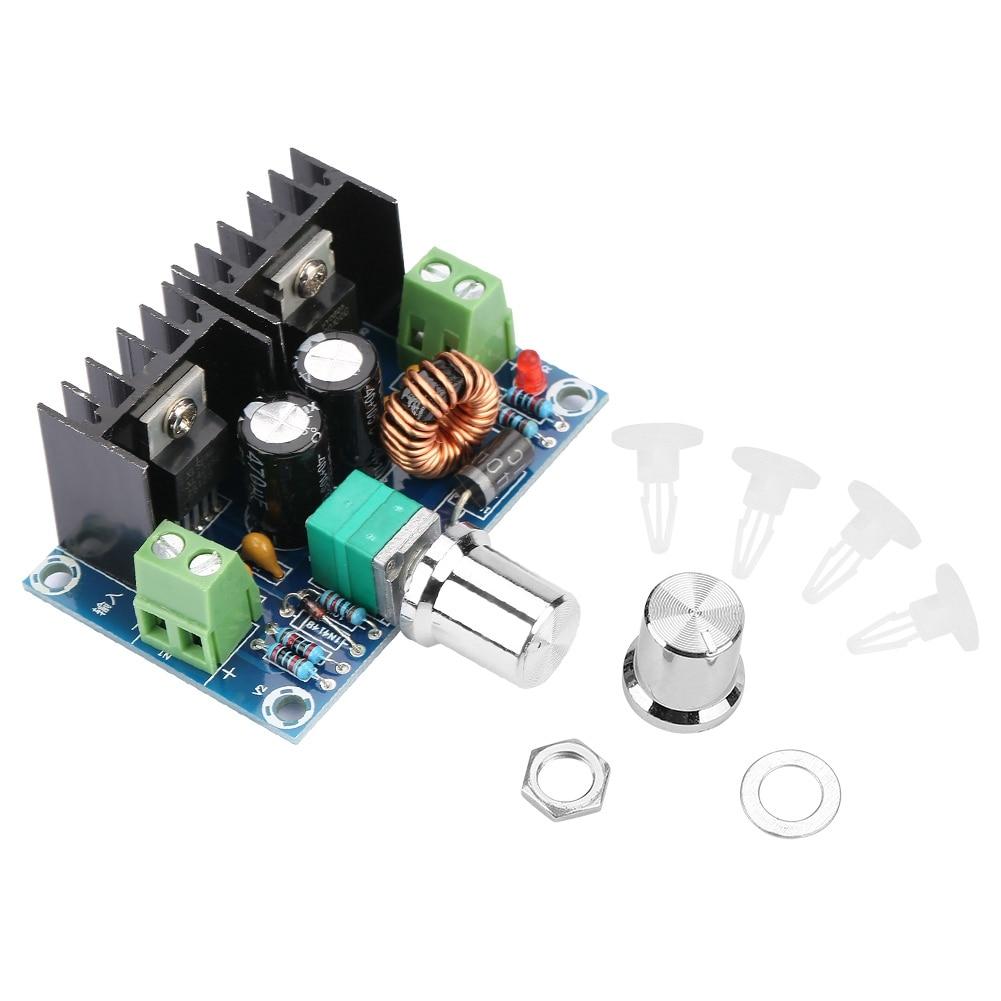 PWM DC-DC Adjustable Step-Down Buck Regulator Module Input 4-40V Output 1.25-36V