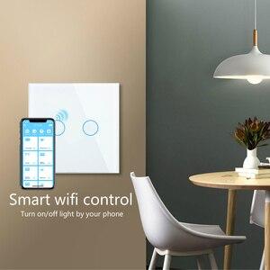 Image 2 - Commutateur tactile intelligent de wifi de Zigbee de contrôle tactile dappli de Livolo, écho sans fil domotique intelligent, alexa, contrôle à la maison de google