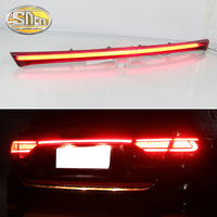 Rear Bumper Trunk Tail Light For Kia Rio X line X line 2018 2019 Car LED Rear Fog Lamp Brake Light Dynamic Turn Signal Reflector