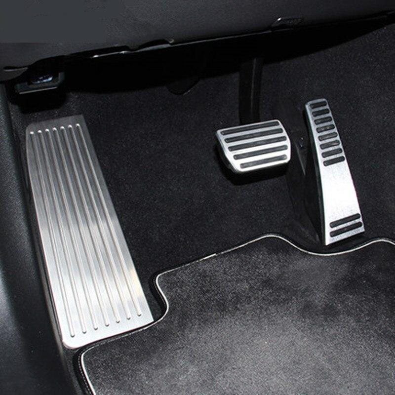 CNORICARC, нержавеющая сталь, автомобильный акселератор, педаль тормоза, накладка, полоски на педали для Volvo XC60, аксессуары для интерьера
