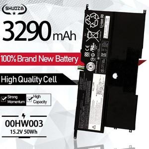 NEW 00HW002 00HW003 Laptop Battery For Lenovo ThinkPad X1 Carbon Gen3 2015 Series SB10F46440 SB10F46441 15.2V 50Wh 3295mAh