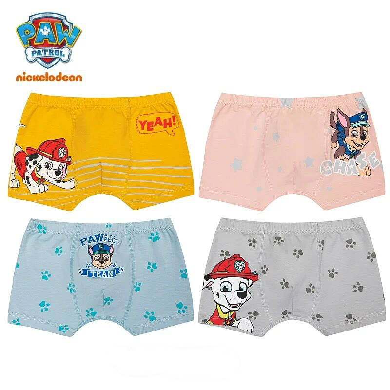 Boys Paw Patrol Briefs Pants Age 18 Months to 4 Years Chase Rubble Marshall
