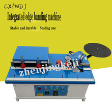 Furniture Edge Sealing Machine Woodworking Edge Sealing Machine Small Edge Banding Trimming One Machine Plate Woodworking Tools