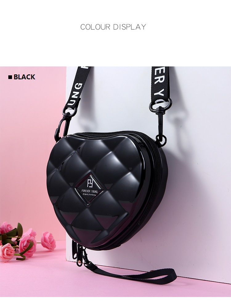 H9e03d81696274e719e5e0938488c634bN - Fashion Luxury HandBags Heart Shaped PVC Mini Shoulder Bag for Woman Fashion Designer Personality Small Box Women Purses