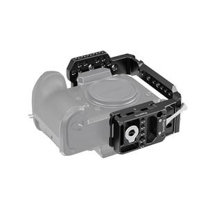 Image 2 - SmallRig S1H pół klatka dla Panasonic S1H Dslr kamera klatka z NATO Rail & Cold Shoe Mount Vlog wideo strzelanie Rig  2513