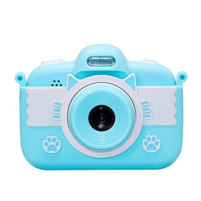 Enfants Mini caméra numérique 1080P 18MP vidéo Photo jeu enfants Cam jouets cadeau Photo résolution 1920x1080 vidéo 4608x3456