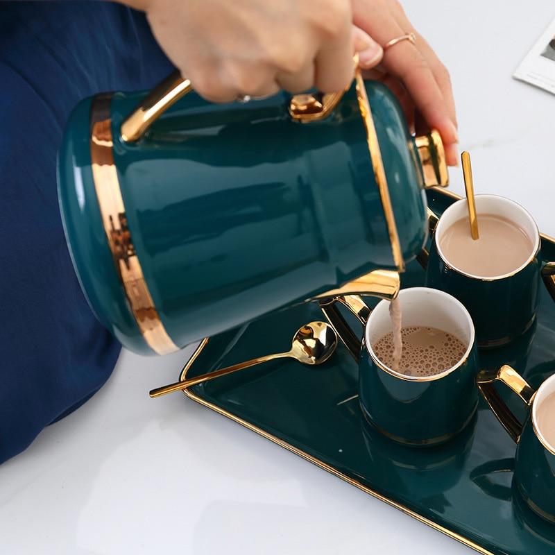 3 шт./компл. фильтр горшок + кофемолка + капельный чайник + 20 шт фильтровальная бумага для туристический подарок коробка упаковка кофе подарок... - 6
