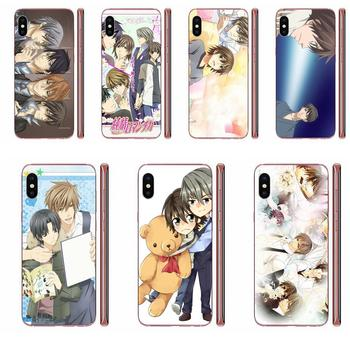 Japanese Anime Junjou Romantica For Apple iPhone 4 4S 5 5C 5S SE SE2 6 6S 7 8 11 Plus Pro X XS Max XR Soft Hot Selling image