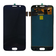 G920f lcd For SAMSUNG GALAXY S6 G920 G920F LCD Display Touch Screen Digitizer Assembly No Frame For Samsung S6 TFT LCD Display