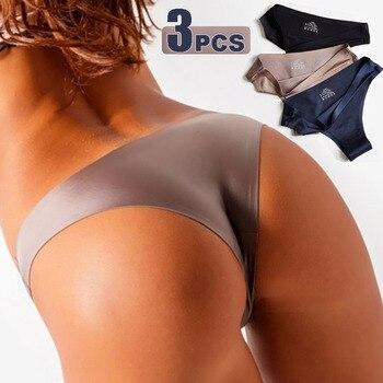 Women Seamless Silk Underwear INTIMATES Panties