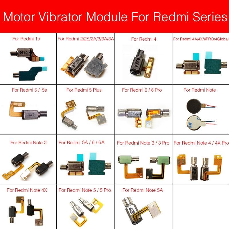 Motor Vibrator Flex Cable For Xiaomi Redmi Note 1s Singal Dual 2 2S 2A 3 3S 3A 4 4A 4X 5 5S 5A 6 6A Plus Pro Global Vibrator
