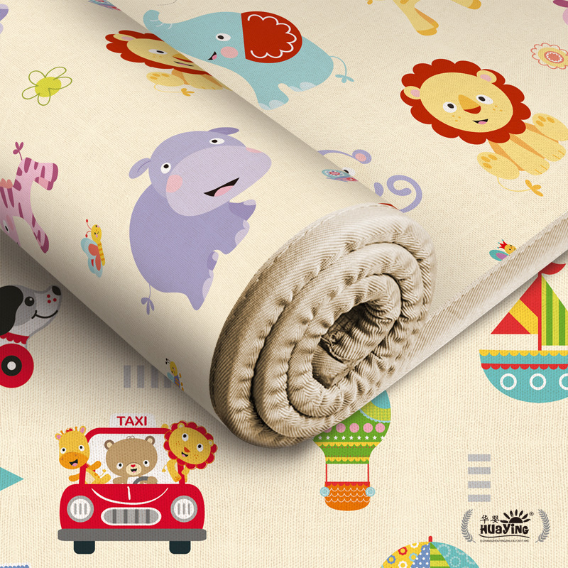 180*150cm Foldable Cartoon Baby Play Mat Xpe Puzzle Children's Mat Baby Climbing Pad Kids Rug Baby Games 180*150cm Foldable Mats