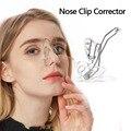 Силиконовый зажим для носа корректор поднятие носа Формирование формирователь ортопедии Красота массажер для похудения выпрямления Reshaper ...