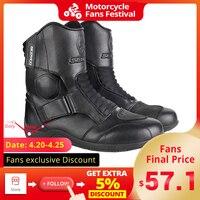 SCOYCO  Botas de Moto para hombre  zapatos de Moto a prueba de viento  Botas de Moto de Motocross  Botas protectoras para montar 35 46  Otoño Invierno|Botas de motocicleta|Automóviles y motocicletas -