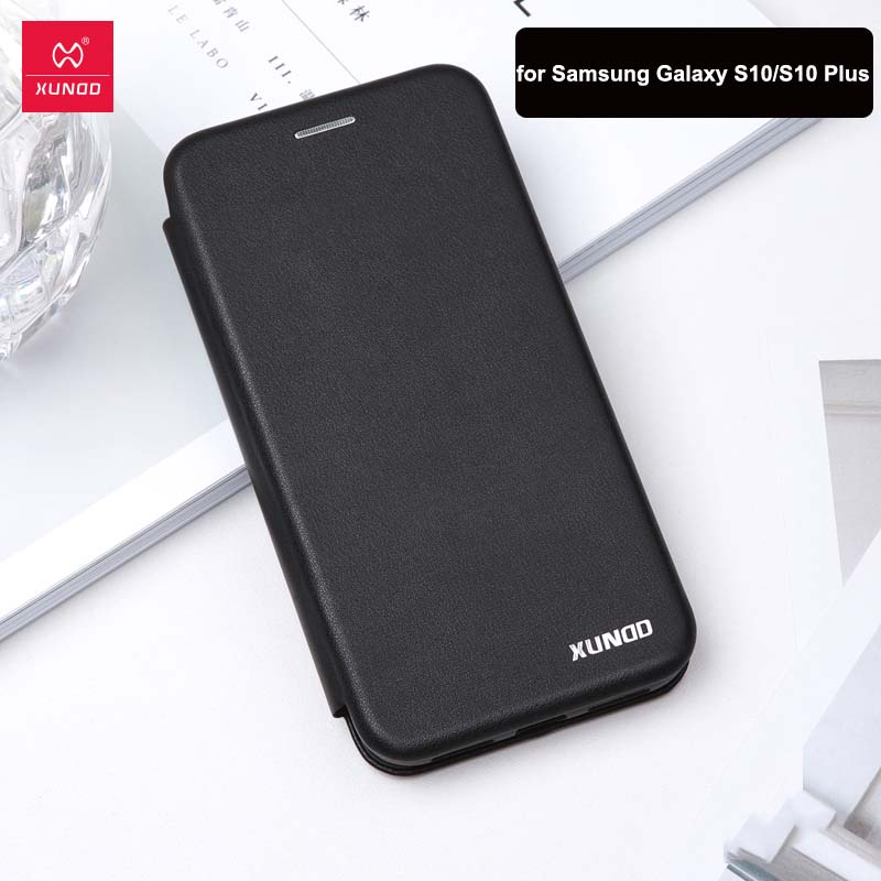 For <font><b>Samsung</b></font> <font><b>S10</b></font> Case Luxury Xundd Genuine Leather Shockproof Protective <font><b>Flip</b></font> <font><b>Cover</b></font> Case for <font><b>Samsung</b></font> <font><b>S10</b></font>+ Case for <font><b>S10</b></font> Plus Case image