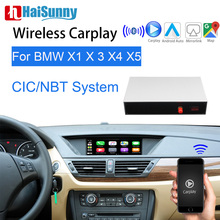 Wifi Drahtlose BMW CIC NBT Apple Carplay Für E84 F25 F26 E70 E71 F48 F15 Multimedia Player Video interface GPS karten Android Auto