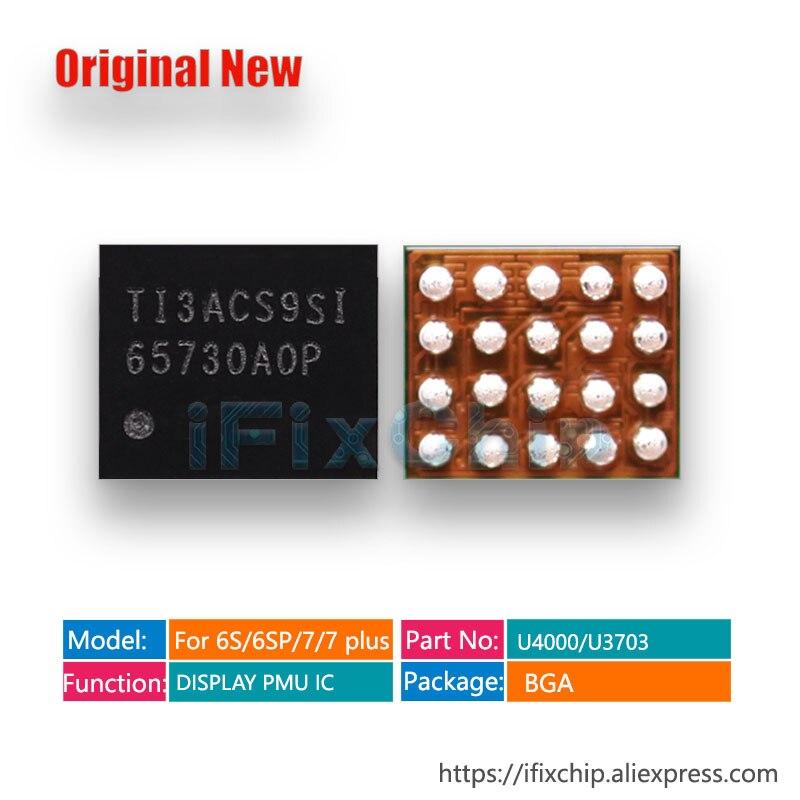 20 unids/lote TPS65730AOP para iPhone 6S/6S plus/ 6sP pantalla LCD ic chip U4000 65730AOP 65730 65730A0P