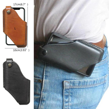 Waist-Bag Chain Phone-Pouch PU for Men