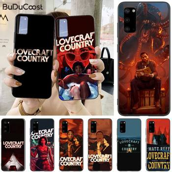 Jomy Horror TV Series lovecraft country Phone Case For Samsung Galaxy S10 Plus lite S10e S20 S8 S9 plus image