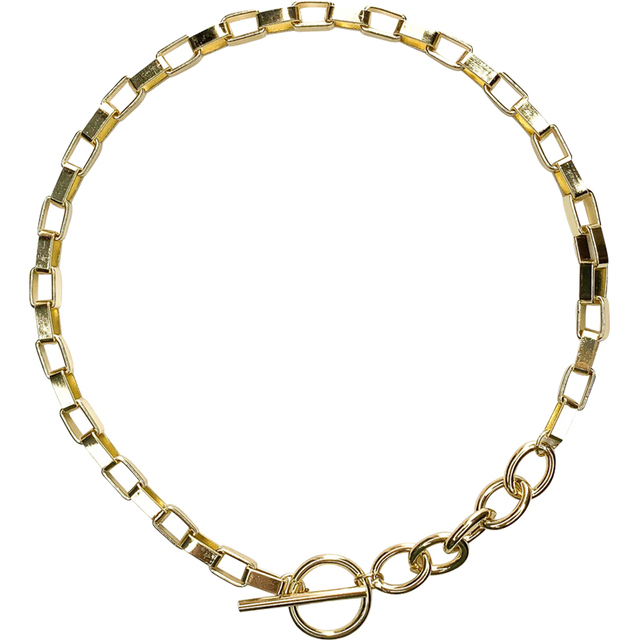 bar and chain necklace 5