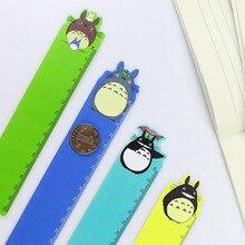 Ruler School-Supplies Party Japan Stationery Diy-Tools Cartoon-Design Cute PVC 1pcs/Lot