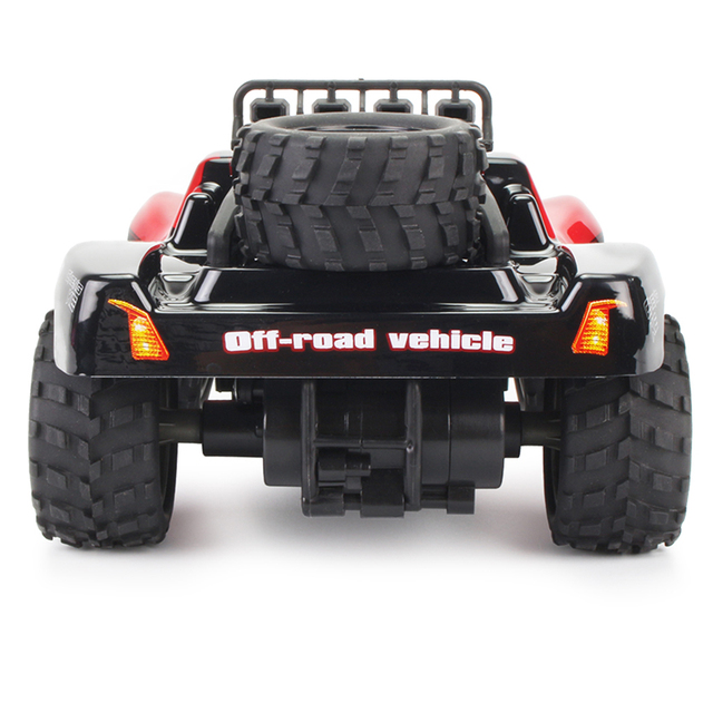 1:18 48KM/H 2.4G Machines Remote Control Model Vehicle Kids Electric RC Car Gift Climbing Big Tire Off Road Truck High Speed 2