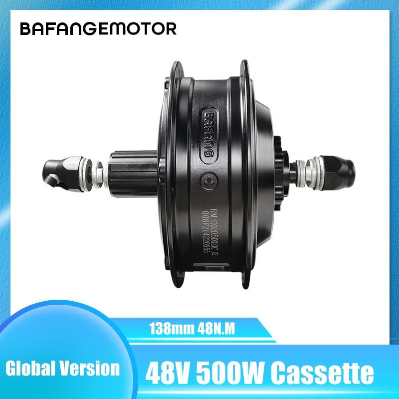 Bafang Hub Motor 500w Cassette Electric Bike Hub Motor Rmg020 500 Dc 8fun Ebike Rear Wheel Hub Motor Mtb 138mm Electric Bicycle Motor Aliexpress