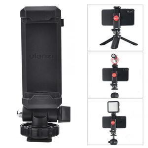 Image 2 - Ulanzi ST 06 حامل هاتف قابل للتعديل ترايبود جبل مع 1/4 برغي الحذاء الساخن الهاتف كليب اطلاق النار ل DSLR كاميرا فيديو Vlog