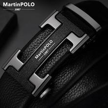 2020 MartinPOLO известный бренд пояса для мужчин Одежда высшего качества из натуральной кожи роскошные кожаные ремни для мужчин ремень мужской Ме...