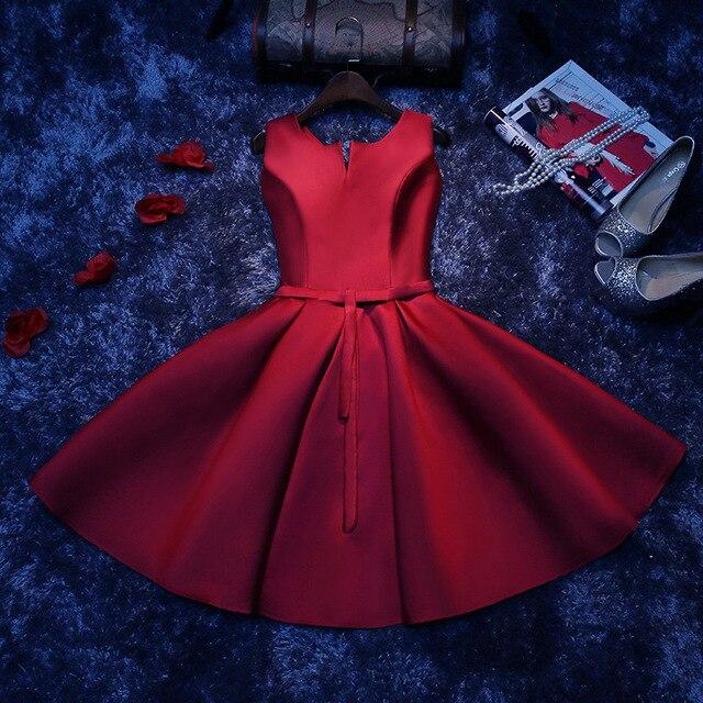 Vestido de noche para mujer, vestido de fiesta corto 3