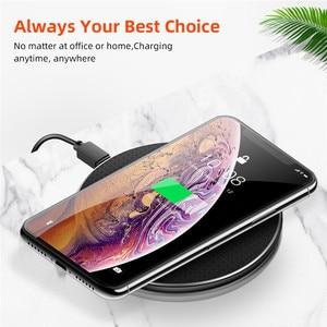 Image 5 - 10W Caricatore Senza Fili Qi Per Samsung Galaxy S10 S9 S8 Huawei P30 Pro Veloce Pad di Ricarica Caricatore Del Telefono per iPhone 11 Pro XS Max XR