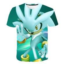 Supersonic Boys 3D Print Cartoons T-shirt Girls Lovely Funny Anime T-shirt 2021 Summer Kids Fashion Casual Short Sleeve
