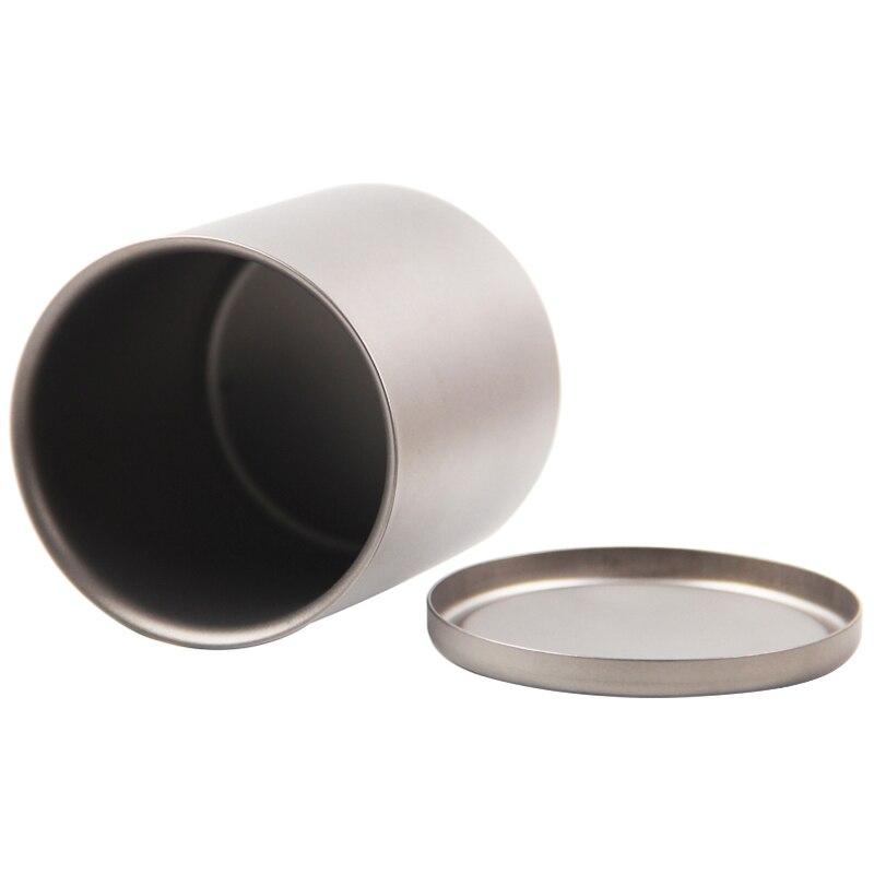 Кружка с двойной стенкой кофейная кружка теплоизоляция офисные кружки двойной кофе титановая чашка питьевое молоко туристические кемпинг... - 5