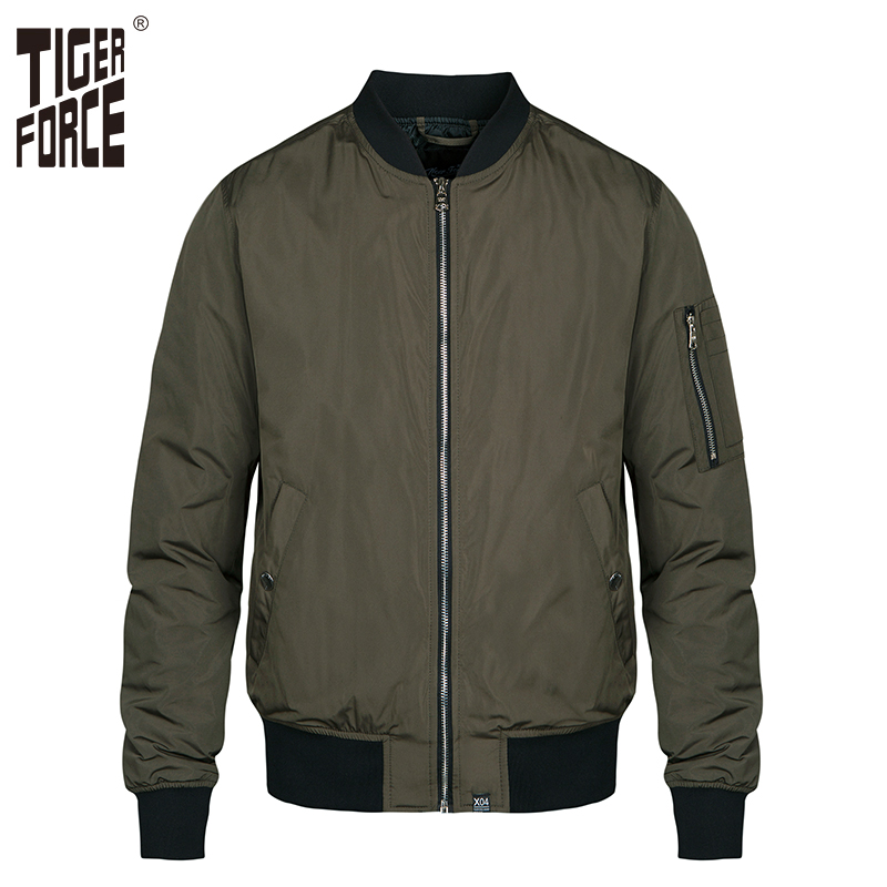 Tiger Force Men Bomber Jacket Men's Spring Jacket Windbreaker Fashion Camouflage Men Coat Army Military Male Outerwear Plus Size