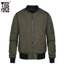 Мужская куртка бомбер Tiger Force, модная камуфляжная ветровка в стиле милитари, верхняя одежда размера плюс, весна