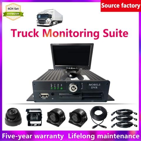 hyfmdvr 4ch ahd 960p dvr movel monitor local terno carro pal