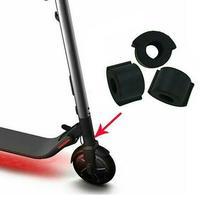 2 unids/set Scooter eléctrico a prueba de choque plegable cojín Protector para Ninebot ES1 ES2 ES4 almohadilla de silicona