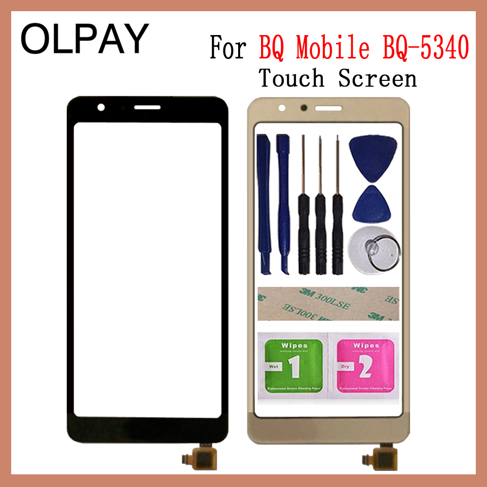 5.34 inch Touch Screen For BQ Mobile BQ-5340 BQ 5340 Touch Screen Digitizer Panel Front Glass Lens Sensor Repair And Tools title=