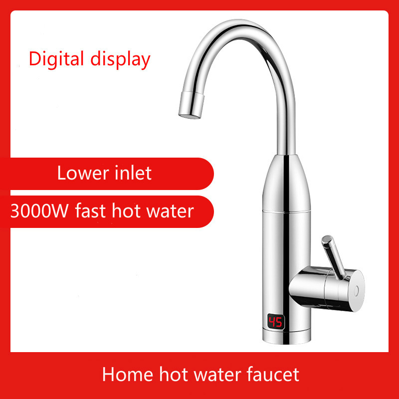 3000 Вт Электрический кран для горячей воды Мгновенное нагревание кухонной воды Быстрое нагревание водонагреватель для дома, душа, ванной маленькое кухонное сокровище|Электрические водонагреватели|   | АлиЭкспресс