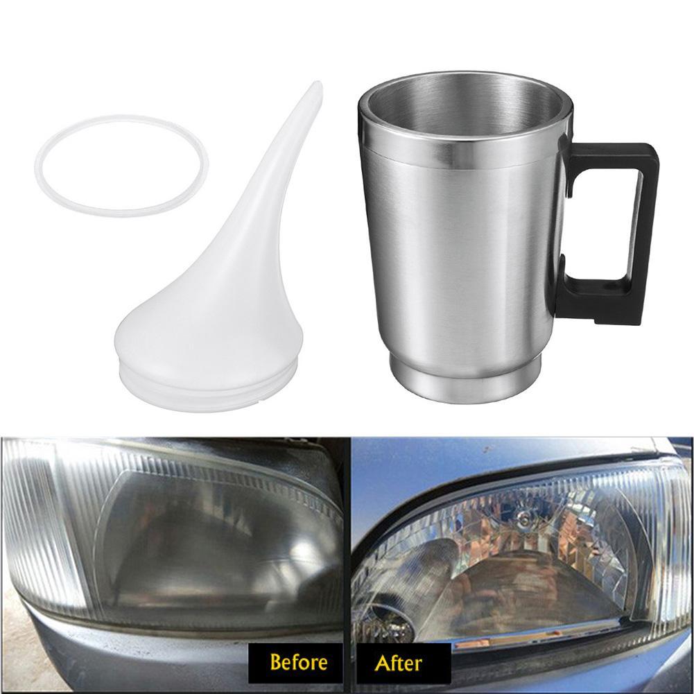 Car Headlight Refurbished Headlight Headlamp Repair Tools Electric Heating Cup Kit Car Lamp Headlight Renovation Atomizing Cup