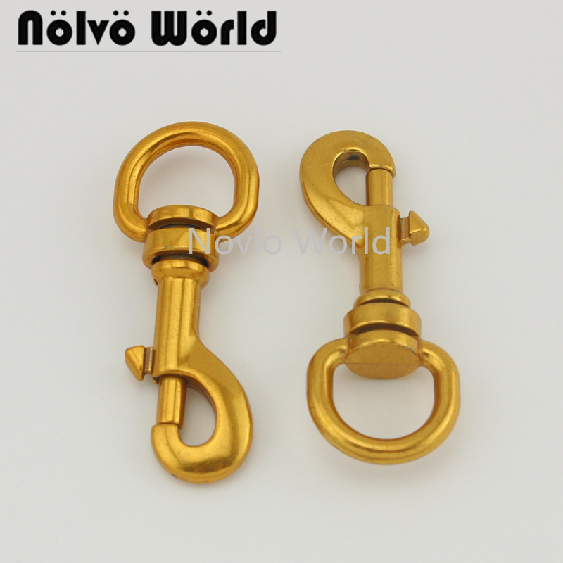 4 Pieces, 57.6*15mm,high Quality Old Gold Metal Buckle Dog Collar Buckle Chain Clasp Lobster Swivel Snap Hook Buckle Accessories