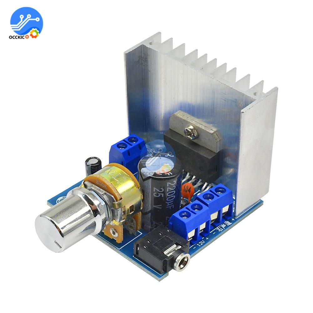 DIY Kit TDA7297 audio amplifier board Version B speaker DC 9-15V 15W*2 Digital Audio Power Amplifier Module volume control