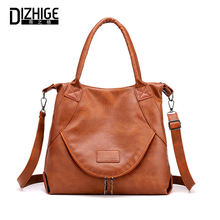 DIZHIGE Brand Luxury Large Capacity PU Women Handbag High Quality Crossbody Bags For Multi-pocket Female Shouldr Bag