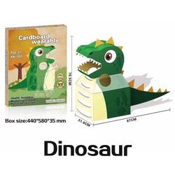 Kindergarten kinder interaktives spielzeug well tragbare karton kleidung karton box karton handmade DIY papier haut
